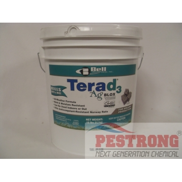 Terad3 Ag Blox Rodenticide Organic - 18 lbs