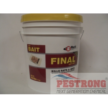 Final Soft Bait with Lumitrack Rat Mice Rodenticide Poison - 16 Lbs