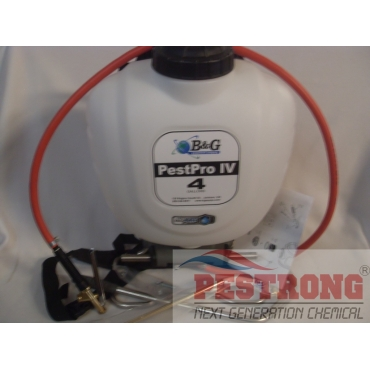 B&G Pestpro IV Backpack Sprayer 4 Gal / 4 Way Tip