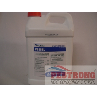 Vessel 3 Way Herbicide Broadleaf Weed Trimec - 2.5 Gal