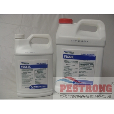 Vessel 3 Way Herbicide Broadleaf Weed Trimec - 1 - 2.5 Gal