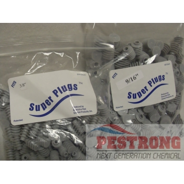 "Super Plugs Termite Patch Holes 250 Pk - 3/8"" - 9/16"""