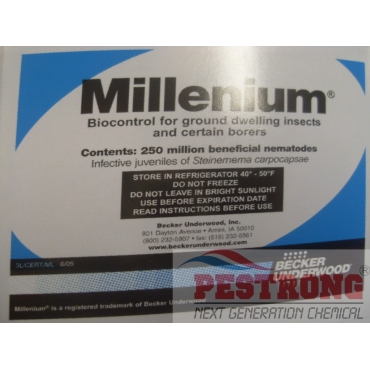 Millenium Beneficial Nematodes - 5 x 250 Million Pack