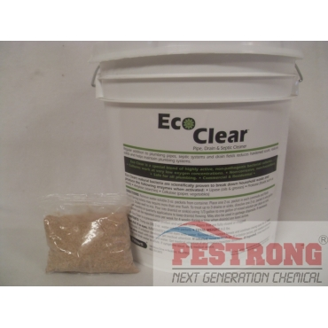 EcoClear Pipe Drain Septic Cleaner