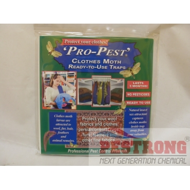 Pro-Pest Clothes Moth Trap - 1 Pack (2 Traps)
