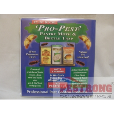 Pro-Pest Pantry Moth and Beetle Trap - 1 Pack (2 Traps)