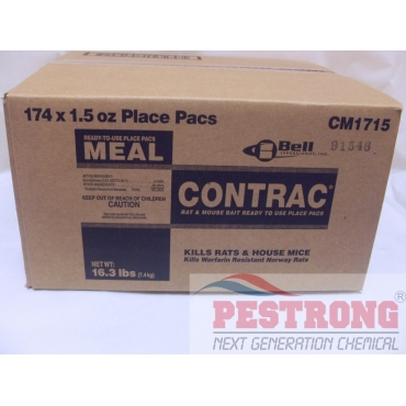 Contrac Meal Bait Place Pacs CM1715 - 174 x 1.5 oz