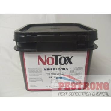 NoTox Mini Blocks Rat Mice Monitoring - 10 Lb