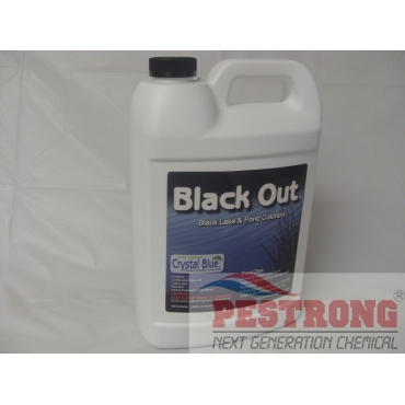 Black Out Black Lake Pond Dye - Gallon