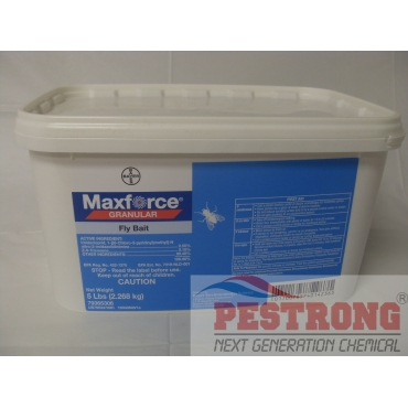 Maxforce Granular Fly Bait Insecticide - 5 lbs