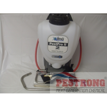 B&G Pestpro II Delux Backpack Sprayer 2 Gallon / 4 Way Tip