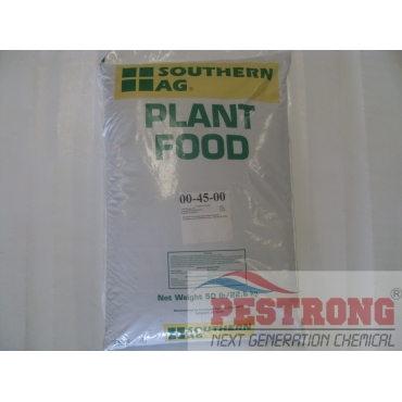 Triple Superphosphate Fertilizer 0-45-0 - 50 Lbs