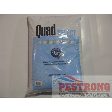 Quad Select Premium Ice Melter - 50 Lbs