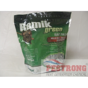 Ramik Green Bait Packs 4 Lbs Resealable Pouch
