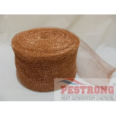 "Stuf-Fit Copper Mesh 6"" Wide - 10 - 100 Ft Roll"