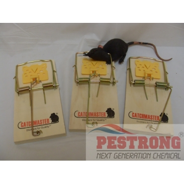 Catchmaster 610PE Snap Trap for Rat - 3 Pks