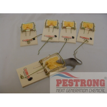 Catchmaster 602PE Snap Trap for Mice - 5Pks