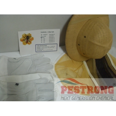Bee Suit Complete Kit included Helmet, Gloves