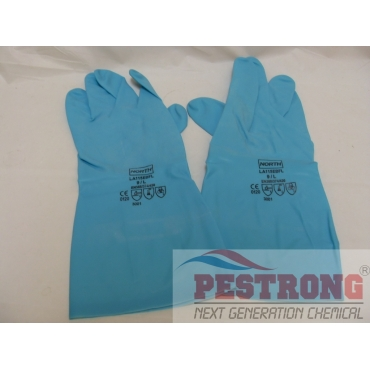 "Sol-Vex ESD Chemical Nitrile Gloves, 15mil, 13""L"