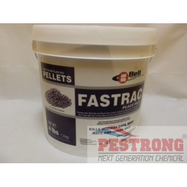 Fastrac Place Pacs Rodenticide - 4Lbs (0.53ozx121Pacs)