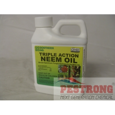 Triple Action Neem Oil Insecticide Fungicide Miticide - Pt