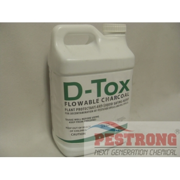 D-Tox Flowable Charcoal Decontamination Agent - 2.5 Gal
