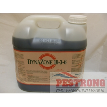 Dynazone 18-3-6 30% CRN Liquid Fertilizer Triazone Fe- 2.5 Gallons