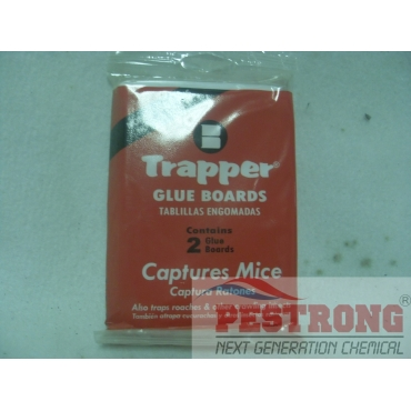 Trapper TM2817 Pack of 2 Mouse Glue Boards