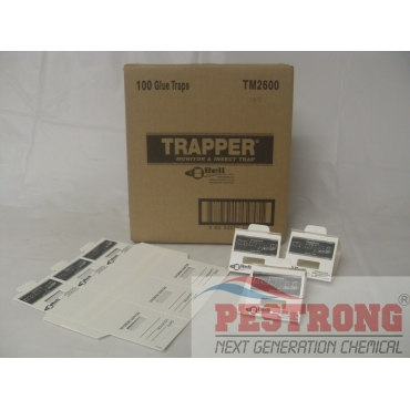 Trapper Monitor & Insect Trap - Pack of 100 Boards (300 Traps)