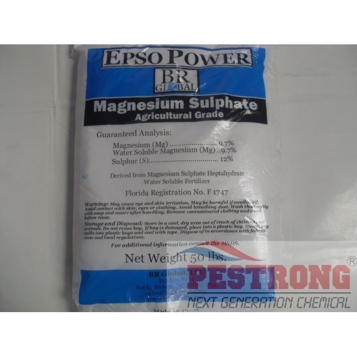 Magnesium Sulfate Heptahydrate Epsom Salt 50 Lbs
