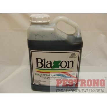 Blazon Green Spray Indicator - no more blue finger - 1 gal