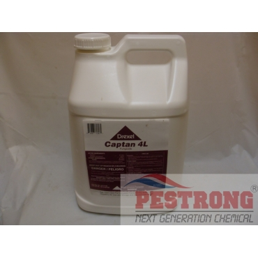 Captan 4L Fungicide Fruits Ornamentals Lawns-2.5 Gallons