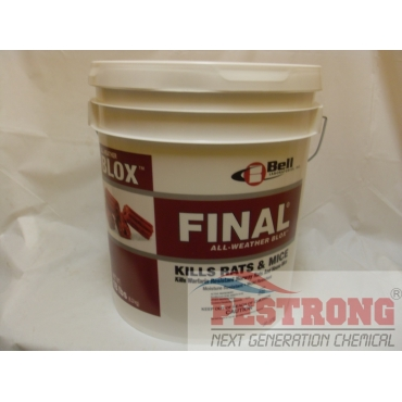 Final All Weather Blox Poison Rodenticide - 18 Lb