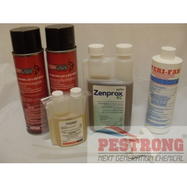 Bed Bugs Complete Professional Pack - 4 Room Kit