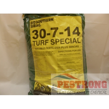 30-7-14 Turf Special Soluble Fertilizer Plus Minors - 25 Lb