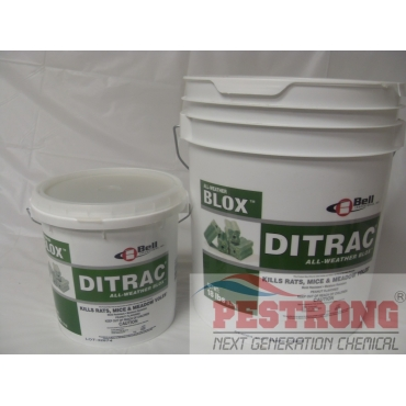 Ditrac All Weather Blox Diphacinone - 4 - 18 Lb