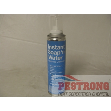 Instant Soap N Water Foaming Cleanser - 9 Oz Can