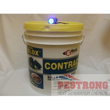 Contrac Lumitrack All Weather Blox Rodenticide for rat mice - 18Lb Pail
