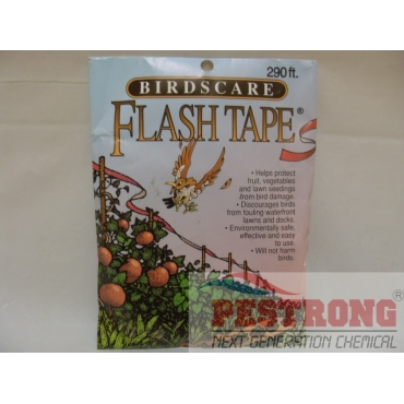"Birdscare Flash Tape 7/16"" x 290 ft Single Roll Bird Repellent"