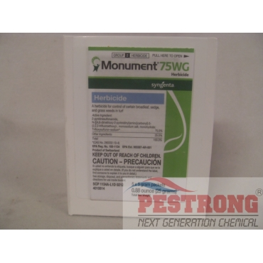 Monument 75WG Herbicide - 5 X 5 Grams