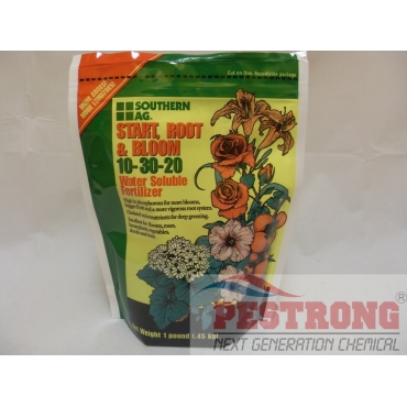 Start Root and Bloom 10-30-20 Water Soluble Fertilizer with micro - 1lb