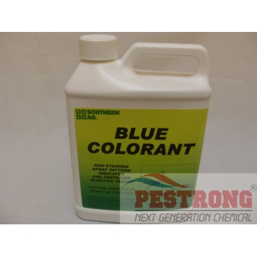 Blue Spray Indicator / colorant for Herbicide / Termiticide - 1qt