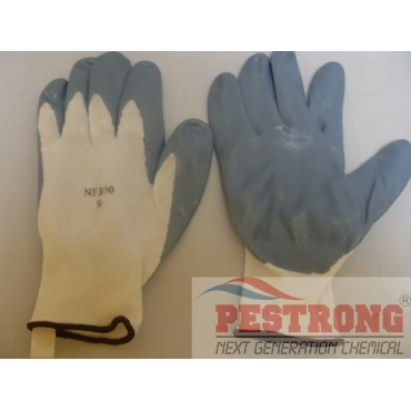 Nitrile Foam Dipped Reusable Gloves - 12 Pairs