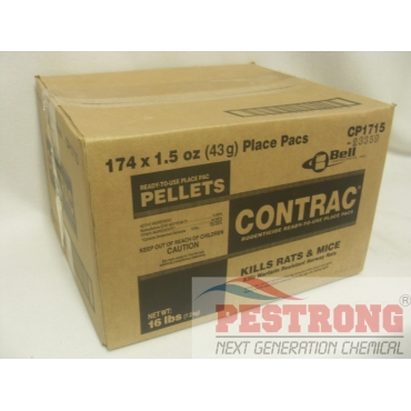 Contrac Pellets Place Packs - 174 x 1.5oz