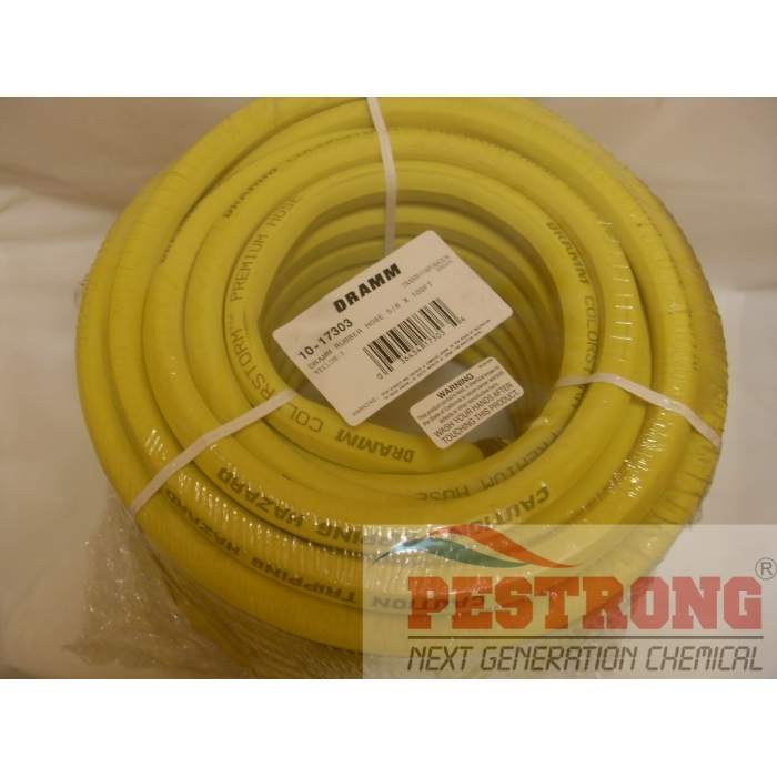 Dramm ColorStorm Professional Rubber Hose 5/8 In 100 Ft
