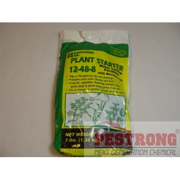 Plant Starter Soluble 12-48-8 with micro-3Lbs