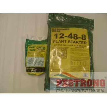 Plant Starter 12-48-8 Soluble /w Micro - 3 - 25 Lb