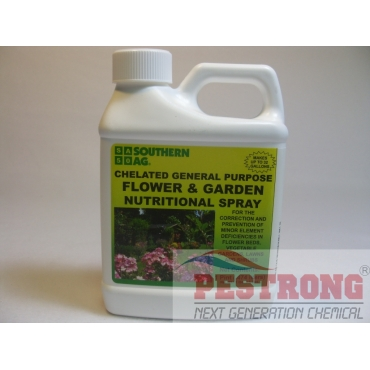 Chelated General Purpose Flower Garden Nutritional Spray-Pt(16oz)