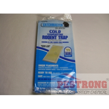 Catchmaster Cold Temperature Rodent Glue Tray-1Pack (2Traps)