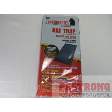 Catchmaster 48R Rodent Glue Tray-1Pack (2Traps)